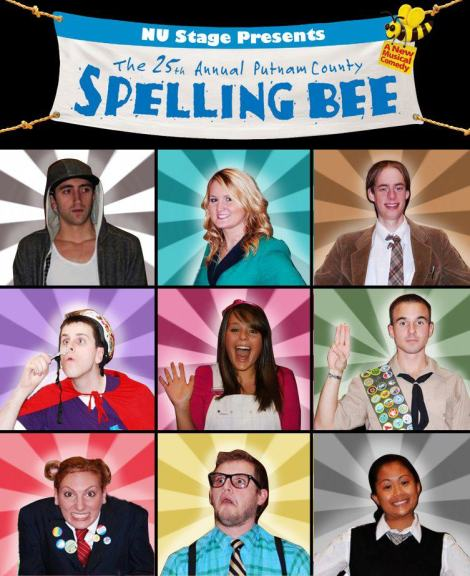 """The 25th Annual Putnam County Spelling Bee"" Broadway Hit Musical At Northeastern!"