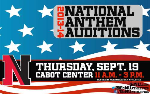 Anthem Auditions
