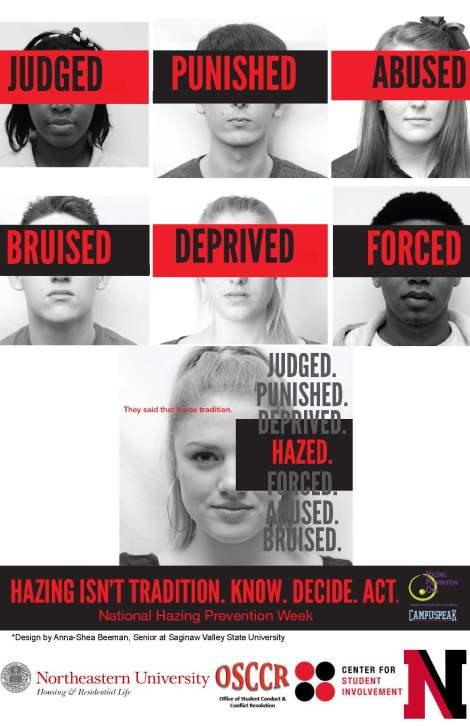 Hazing Poster