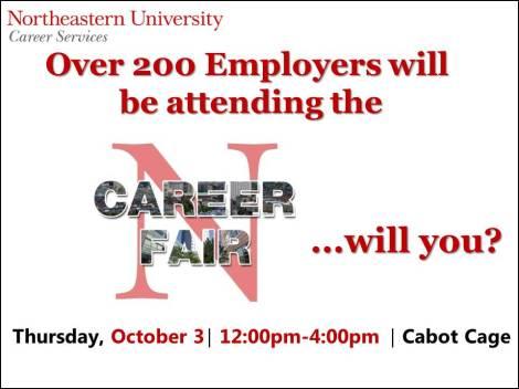 Career Fair Slide 1
