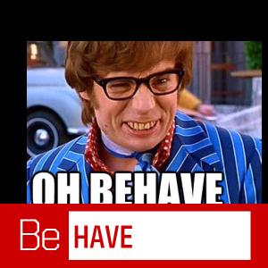 behave selfie