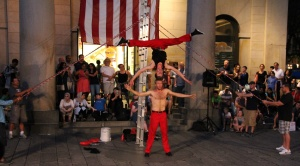 street performers pic
