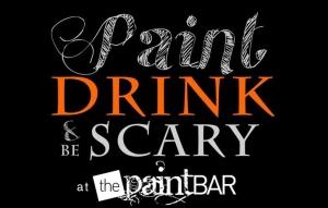 paint bar halloween