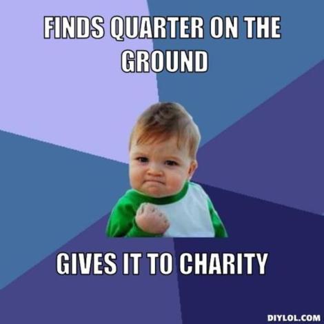 charity meme