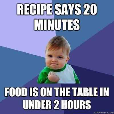 dinner meme
