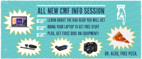 cmf info sessions