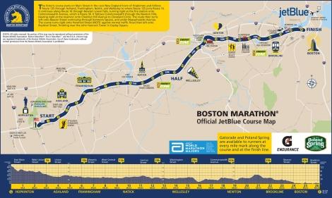 boston marathon route