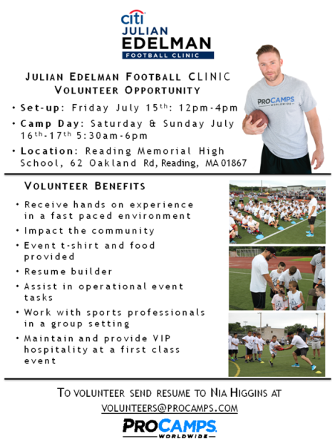 procamp volunteer flyer