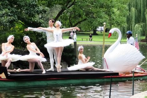 swan boats ballet