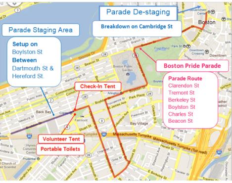 boston pride route