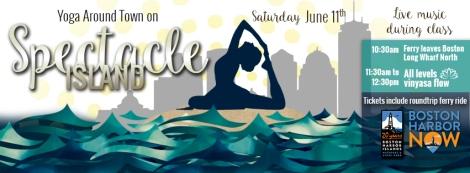spectacle island yoga